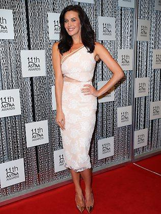 Megan Gale at the 11th Annual ASTRA Awards. Picture: Richard Dobson