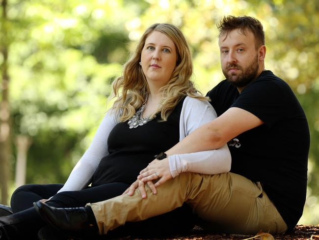 Greg and Catherine Hughes have bravely shared their experience in the hope it will inspire other parents.