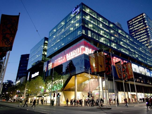 The QV complex at the corner of Swanston and Lonsdale Sts. Picture: Herald Sun Image Libr