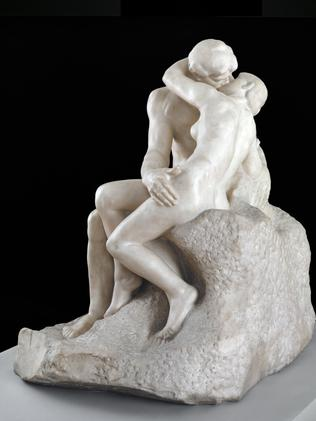 Rodin's The Kiss is travelling to AGNSW for a show next month.