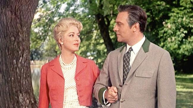 Eleanor Parker with Christopher Plummer in 'The Sound of Music.'