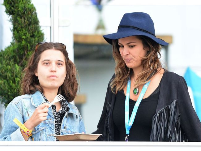 Tiger Lily and Lliana Bird at Hyde Park on June 18, 2015 in London. Photo: Dave J Hogan/Getty Images.