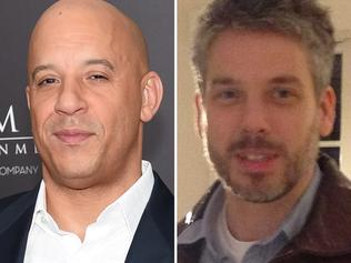 Vin Diesel and twin brother Paul Vincent. Picture: Getty/Facebook