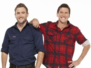 EMBARGOED: For Sunday Mail, April 10. Queensland twins Luke and Cody will appear on the new season of Channel 7's House Rules. Picture: supplied.