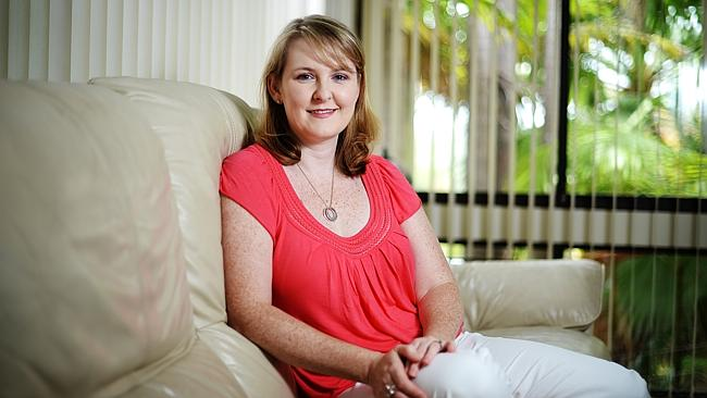 Hope ... breast cancer survivor Julie Dilanian, at her home in Sydney's Frenchs Forest. Breast cancer is the most common cancer in Australian women with around 14,000 new cases a year.