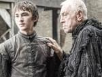 Bran is standing here, so it must be a vision. Picture: HBO