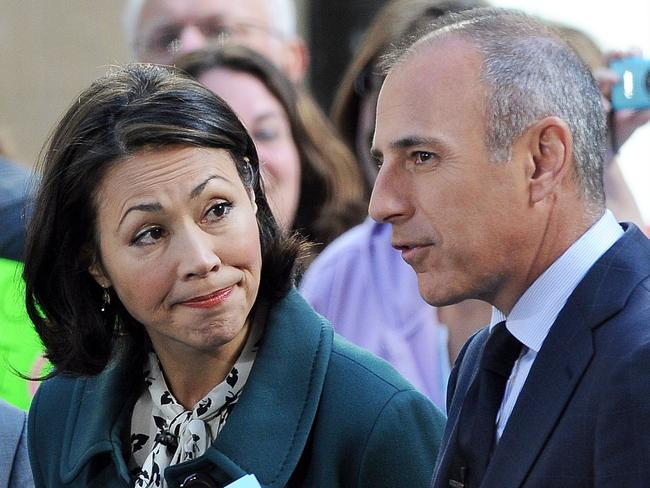"""It hasn't been a good week for Lauer, with former co-host Ann Curry telling media she is """"not surprised"""" by the allegations against Lauer. Picture: Splash News"""