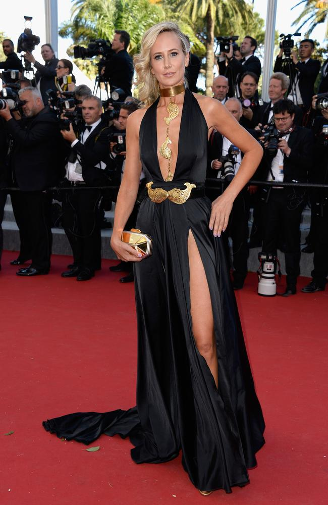 """Lady Victoria Hervey attends the """"Youth"""" Premiere during the 2015 Cannes Film Festival. Picture: Getty"""