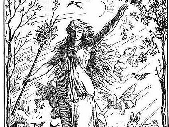 Easter Bunny mystery: Eostre was a pagan goddess who, by way of the Germanic month bearing her name is the namesake of Easter.
