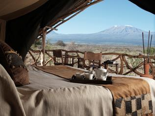 Supplied Travel AUGUST 21 2016 DEALS Satao Elerai tented Camp at Amboseli National Park, Kenya. For use with Bench