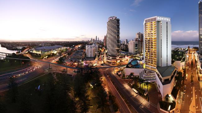 3. Broadbeach on the Gold Coast — growing in popularity. Picture: Supplied.