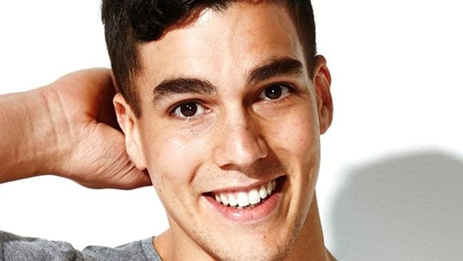Lifesaver ... nurse and topless waiter Chris Nayna is a finalist in Cleo Bachelor of the Year. Picture: Cleo Magazine