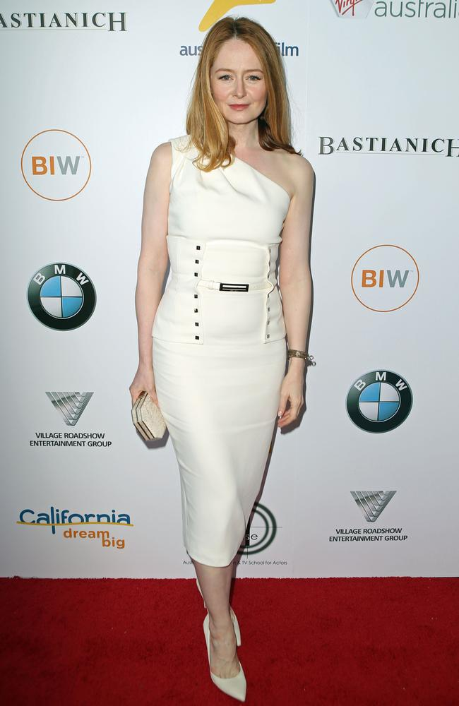Miranda Otto was one of the true Aussie Hollywood success stories to attend. Picture: Australians in Film / Splash