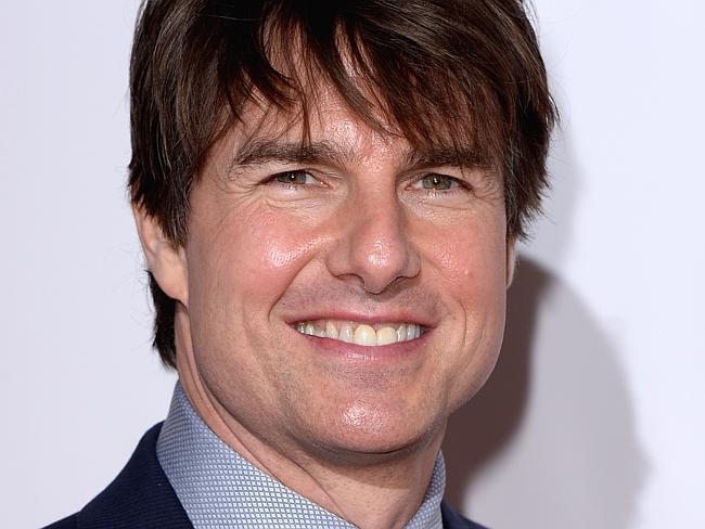 What's happened to Tom Cruise's face?