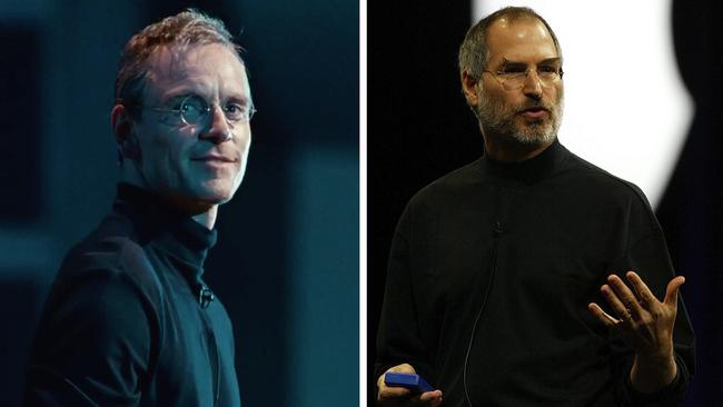 Fassbender in Steve Jobs and Steve Jobs.