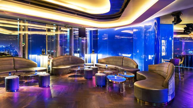 X 25 Lounge at W Beijing. Picture: Starwood Hotels