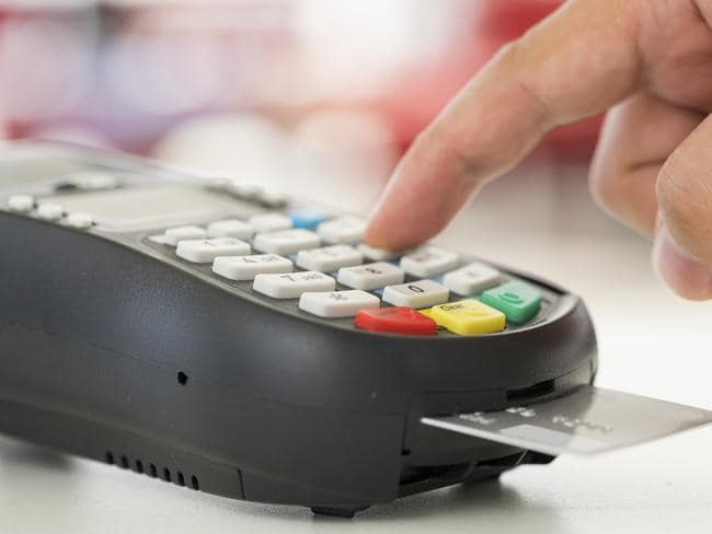 Some credit card interest rates are more than 20 per cent and hit customers hard if they fail to pay off their debt in full each month.