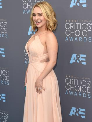 Actress Hayden Panettiere. Picture: Jason Merritt/Getty Images/AFP