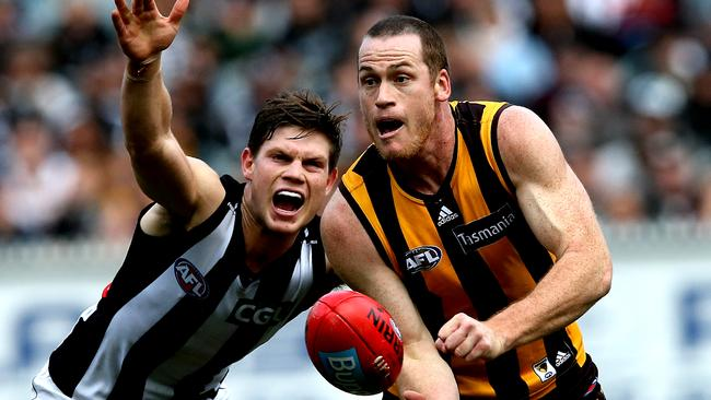 Jarryd Roughead is one of the Hawks' great number twos. Picture: Wayne Ludbey
