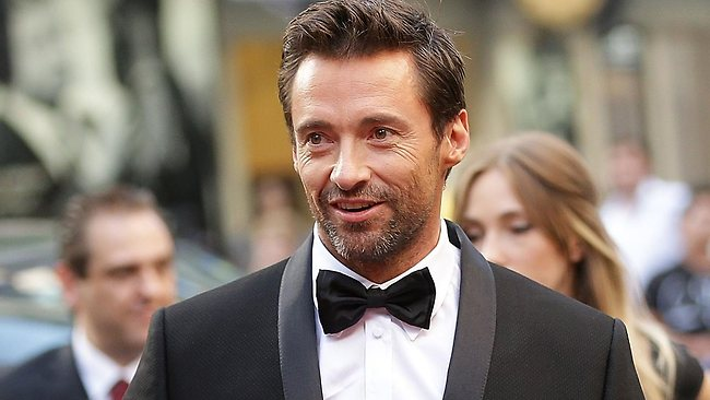 Hugh Jackman walks the red carpet during the Australian premiere of 'Les Miserables' at the State Theatre on December 21, 2012 in Sydney. (Photo by Brendon Thorne/Getty Images)