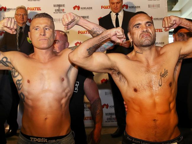 Anthony Mundine vs Danny Green: Live updates, results, video