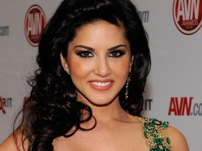 Sunny Leone has been hit with a wave of backlash over being the face of a condom ad. Picture: Ethan Miller