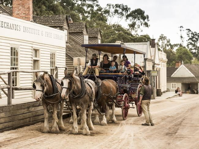 A ride like no other at Sovereign Hill.