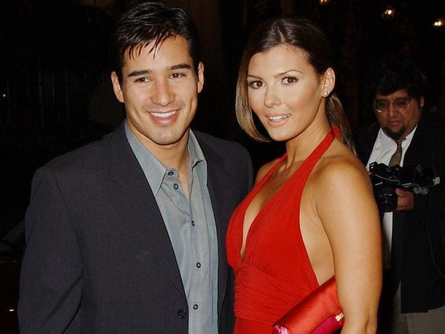 Mario Lopez and Ali Landry. Picture: Robert Mora/Getty Images