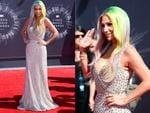 Kesha walks the red carpet at the 2014 Video Music Awards, the VMAs. Picture: Getty