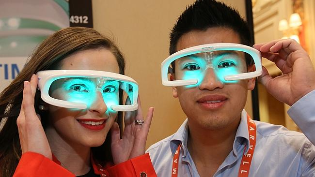Future vision ... attendees enjoy a hands-on demonstration last year's International CES.