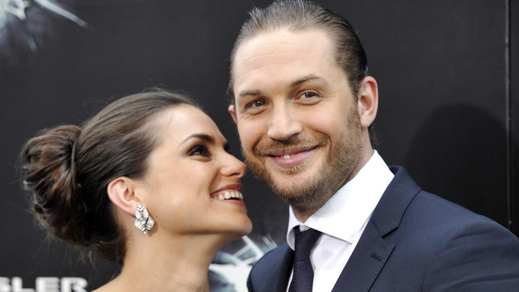 British actor Tom Hardy married Charlotte Riley in secret ...