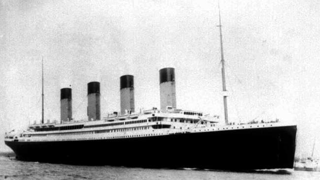 The doomed liner, the S.S. Titanic. April 15, 2017 is the 105th anniversary of the sinking of the Titanic, just five days after it left Southampton on its maiden voyage to New York.