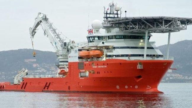 The Seabed Constructor was looking for the Minden. (Picture: Seabed)