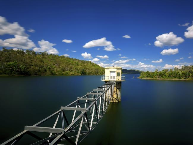 Cooby Dam, in the region of Toowoomba, Queensland. Toombooma's diversifying economy is a hit with the property market.