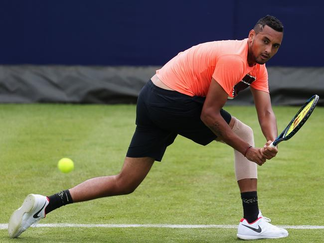 Nick Kyrgios says his body is in 'great nick'.