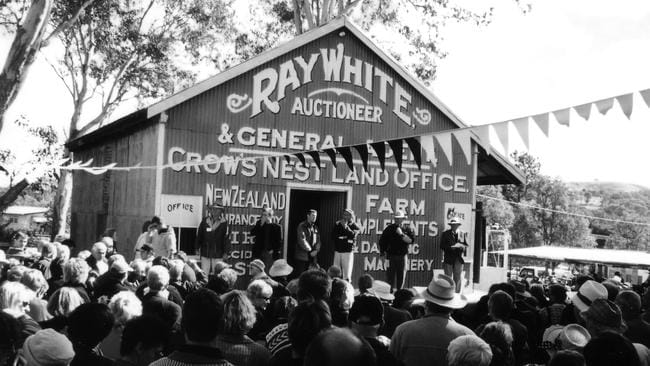 Centenary celebrations at the original Ray White shed in Crows Nest.