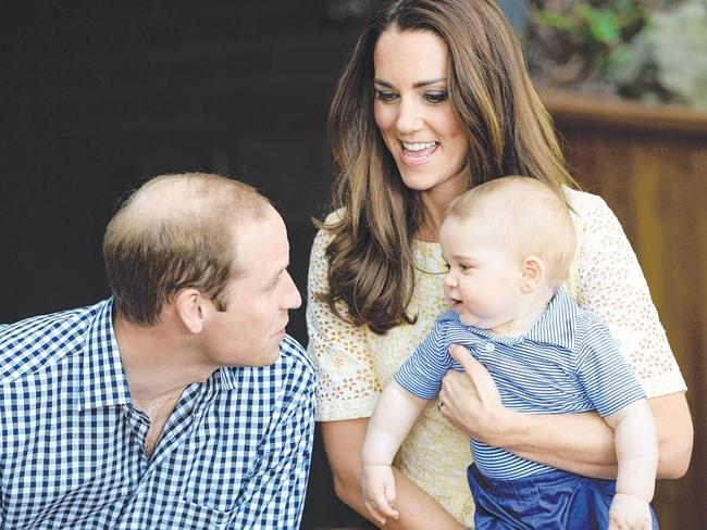 The country lapped up the intimate moments between William and Kate. Picture: Samir Husse