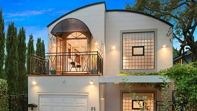 A four-bedroom home at 25 Bradley Ave, Bellevue Hill, New South Wales, which is schedule