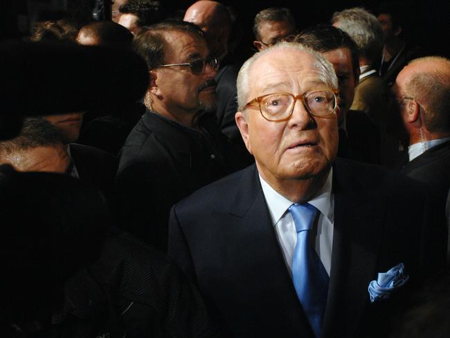 Jean-Marie Le Pen is a far-right politician and former Presidential candidate as leader of France's National Front.