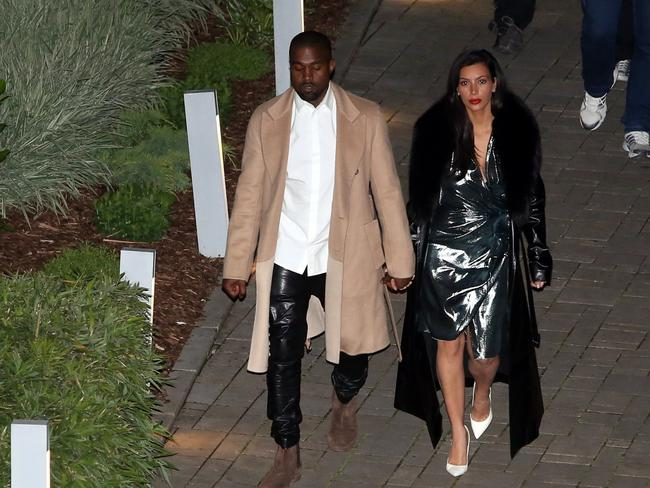 Kim and Kanye honeymoon in Prague.