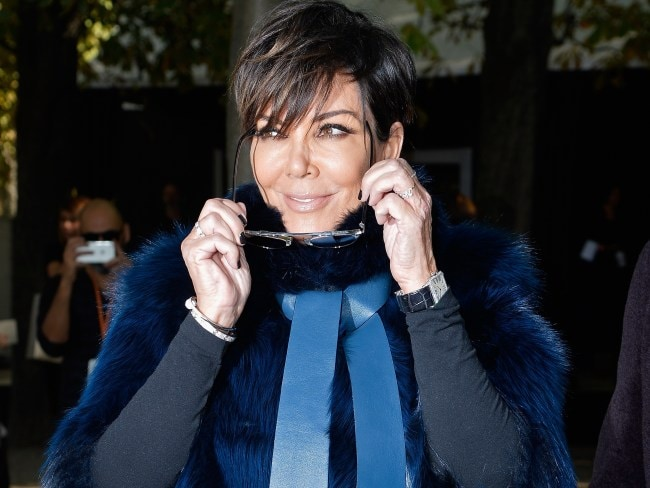 PARIS, FRANCE - OCTOBER 03: Kris Jenner attends the Elie Saab show as part of the Paris Fashion Week Womenswear Spring/Summer 2016 on October 3, 2015 in Paris, France. (Photo by Pascal Le Segretain/Getty Images)