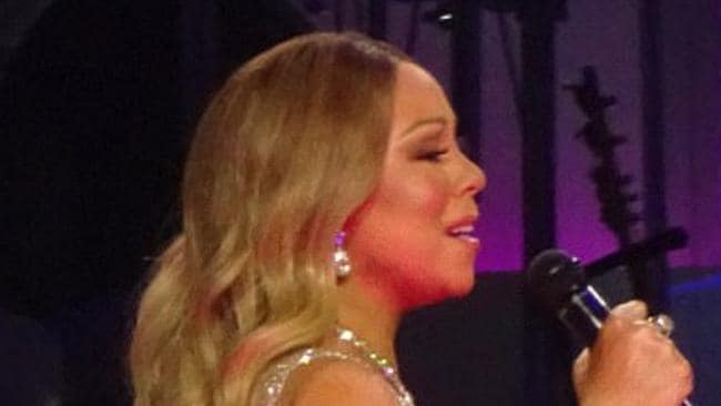 Mariah Carey performs at the final night of her Vegas residency.