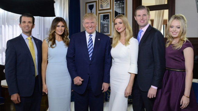 The Trumps (Photo by Fred Watkins/ABC via Getty Images)