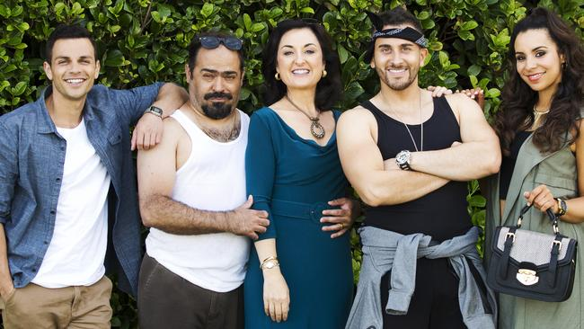The controversial comedy Here Come the Habibs! was one of Nine's best-rating shows.