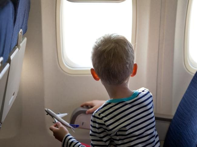 There are worse things than sitting next to a child on a plane.