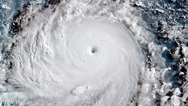 Super Typhoon Soudelor on Monday. Pic: Himawari-8 Satellite.