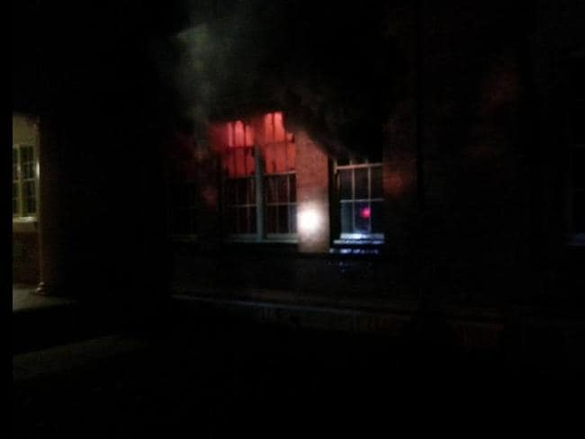 A Fire & Rescue NSW spokesman said the fire was caused by an electrical fault. Picture: Twitter