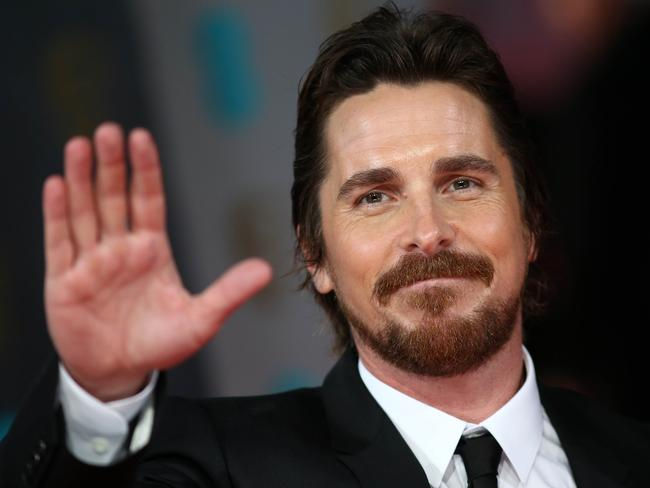 He's a handful … Batman star Christian Bale. Picture: AFP/Andrew Cowie