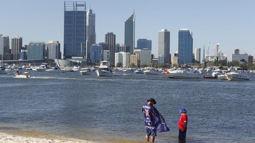 Crowds could soon flock to the shores of South Park to enjoy the Australia Day celebrations.