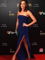 Jessica McNamee - 2013 AACTA Awards at The Star in Sydney. Picture: Craig Greenhill